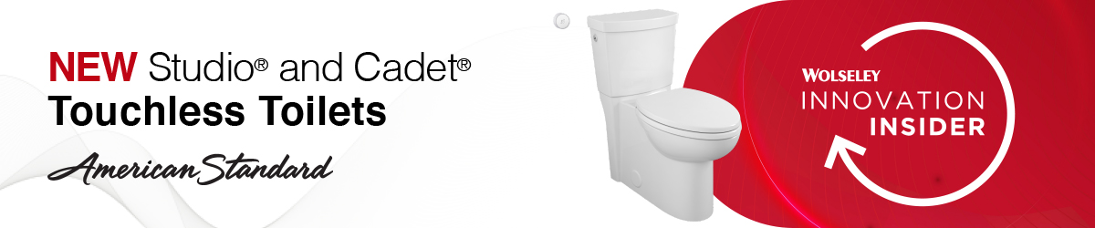 NEW american standard touchless toilets
