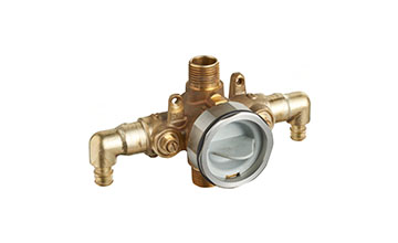 Bath and Shower Rough-In Valves